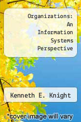 Cover of Organizations: An Information Systems Perspective EDITIONDESC (ISBN 978-0534005832)