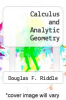 cover of Calculus and Analytic Geometry (3rd edition)
