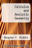 cover of Calculus and Analytic Geometry