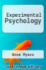 cover of Experimental Psychology (2nd edition)
