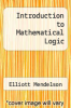 cover of Introduction to Mathematical Logic (3rd edition)