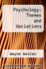 cover of Psychology: Themes and Variations (1st edition)