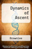 cover of Dynamics of Ascent (2nd edition)