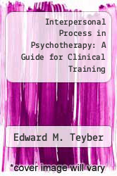 Cover of Interpersonal Process in Psychotherapy: A Guide for Clinical Training 1 (ISBN 978-0534108618)