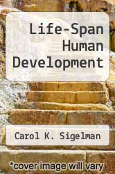 Cover of Life-Span Human Development EDITIONDESC (ISBN 978-0534122843)