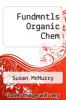 cover of Fundmntls Organic Chem (2nd edition)