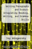 cover of Writing Paragraphs and Essays: Integrating Reading, Writing, and Grammar Skills