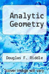Cover of Analytic Geometry 5TH 92 (ISBN 978-0534172749)