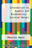 cover of Introduction to Organic and Biochemistry - Solution Manual