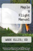cover of Maple V Flight Manual