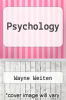 cover of Psychology (2nd edition)
