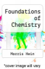 cover of Foundations of Chemistry (8th edition)