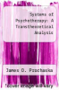 cover of Systems of Psychotherapy: A Transtheoretical Analysis (3rd edition)