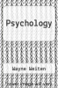 cover of Psychology (3rd edition)