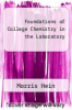 cover of Foundations of College Chemistry in the Laboratory (10th edition)
