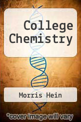 Cover of College Chemistry 10 (ISBN 978-0534360627)