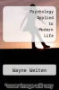 cover of Psychology Applied to Modern Life (6th edition)