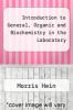 cover of Introduction to General, Organic and Biochemistry in the Laboratory (7th edition)