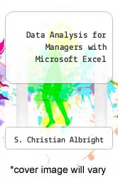 Cover of Data Analysis for Managers with Microsoft Excel 2 (ISBN 978-0534399092)