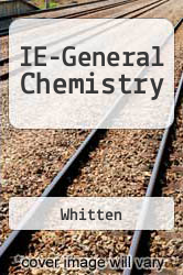 Cover of IE-General Chemistry 7 (ISBN 978-0534408619)