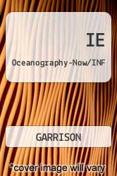 Cover of IE Oceanography-Now/INF 5 (ISBN 978-0534408909)