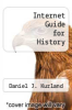 cover of Internet Guide for History (1st edition)