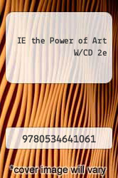 Cover of IE the Power of Art W/CD 2e  (ISBN 978-0534641061)