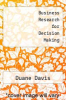 cover of Business Research for Decision Making (2nd edition)