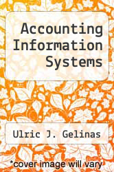 Accounting Information Systems by Ulric J. Gelinas - ISBN 9780534920463
