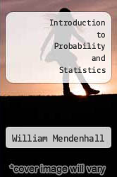 Cover of Introduction to Probability and Statistics 8 (ISBN 978-0534926915)