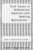 cover of A First Course In  Differential Equations: With Modeling Applications (Solution Manual) (6th edition)