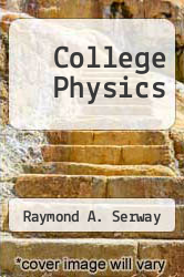 Cover of College Physics 7 (ISBN 978-0534997243)