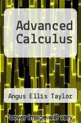 Cover of Advanced Calculus 2 (ISBN 978-0536005878)