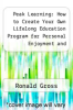 cover of Peak Learning: How to Create Your Own Lifelong Education Program for Personal Enjoyment and Professional Success with Keys to Success: A Supplementary Reader (1st edition)