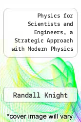 Cover of Physics for Scientists and Engineers, a Strategic Approach with Modern Physics (Volume 1)  (ISBN 978-0536693556)