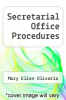 cover of Secretarial Office Procedures (9th edition)