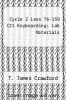 cover of Cycle 2 Less 76-150 C21 Keyboarding: Lab Materials (4th edition)