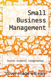 Cover of Small Business Management 15 (ISBN 978-0538737111)