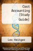 cover of Cost Accounting (Study Guide) (2nd edition)