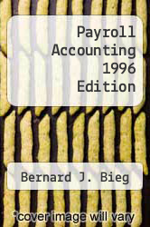 Cover of Payroll Accounting 1996 Edition 6 (ISBN 978-0538857239)