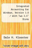 "cover of Integrated Accounting for Windows, Version 1.0 / With Two 3.5"" Disks (2nd edition)"