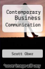 cover of Contemporary Business Communication