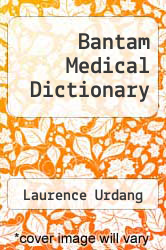 Cover of Bantam Medical Dictionary EDITIONDESC (ISBN 978-0553226737)