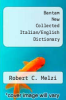 cover of Bantam New Collected Italian/English Dictionary