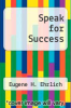 cover of Speak for Success