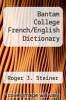 cover of Bantam College French/English Dictionary