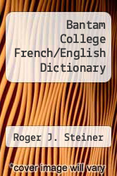 Cover of Bantam College French/English Dictionary EDITIONDESC (ISBN 978-0553245035)