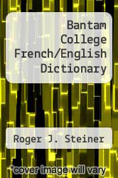 Cover of Bantam College French/English Dictionary EDITIONDESC (ISBN 978-0553252378)