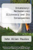 cover of Innumeracy: Mathematical Illiteracy and Its Consequences