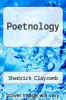 cover of Poetnology